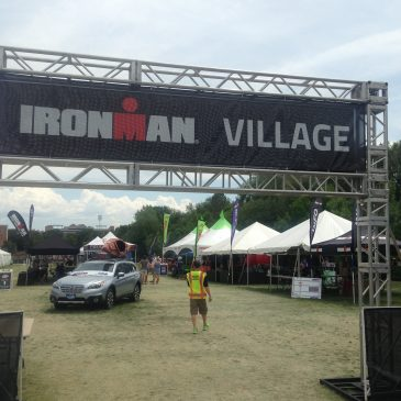 Ironman Village Review at Ironman Boulder