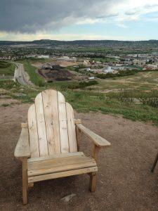 Top of the mini incline, Castle Rock CO