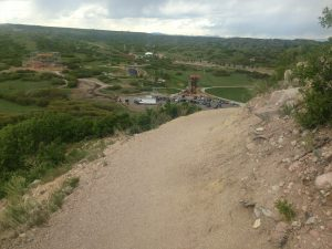 Running the Castle Rock Challenge Staircase