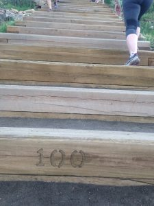 Running the Challenge Staircase in Castle Rock