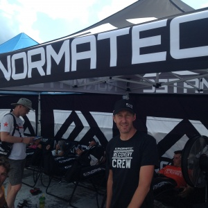 Normatec at Lake Placid Ironman Village