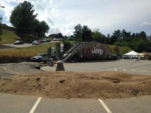 Jeep at Lake Placid Ironman Village