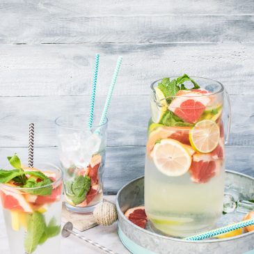 Stay Hydrated with Infused Water